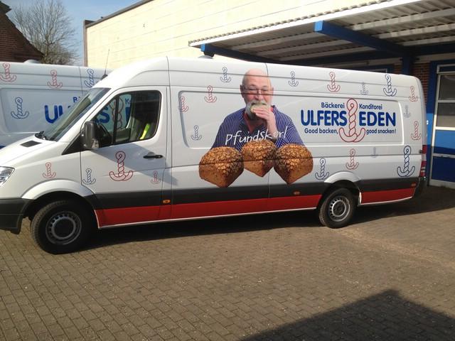 Fahrzeugbeschriftung Wittmund Ulfers Eden
