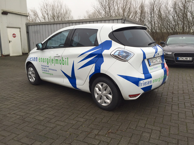 Friesenenergie Elektroauto Wangerland