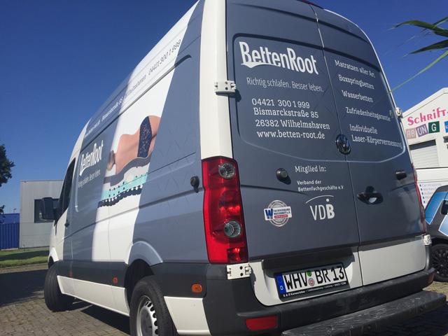 Fahrzeugbeschriftung Wilhelmshaven