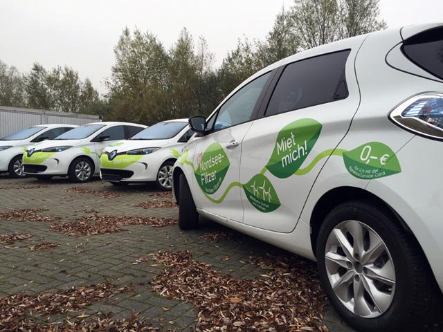 Nordseeflitzer Fahrzeugbeschriftung Nordsee
