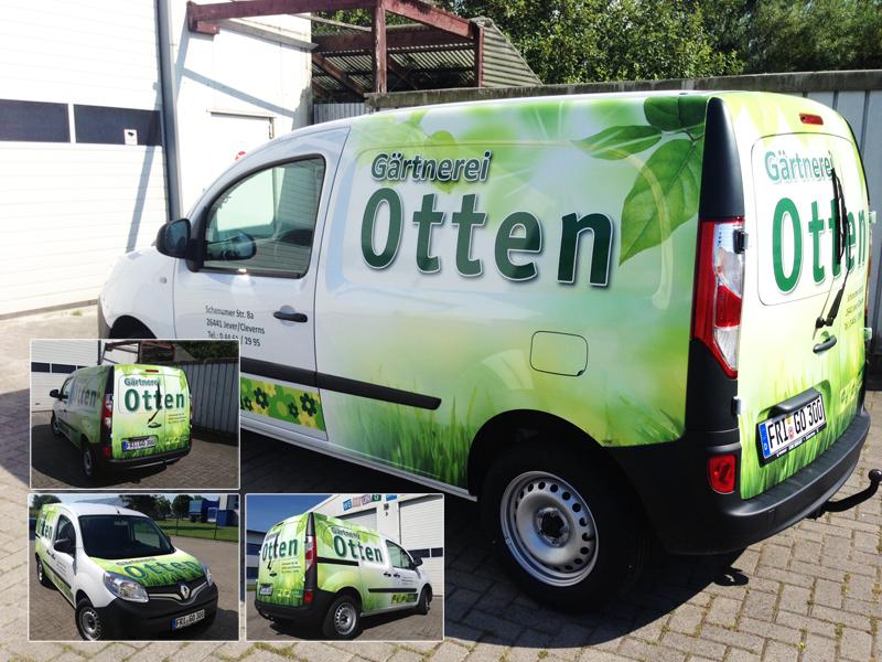 Fahrzeugbeschriftung Otten_Jever