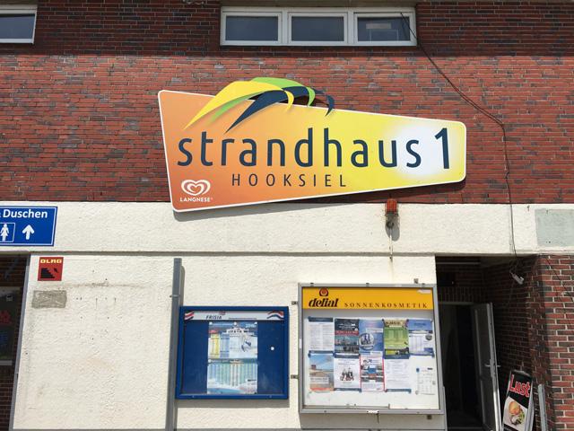 Werbeschild gefräst Hooksiel Wangerland